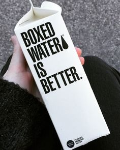 Boxed water is better Boxed Water Is Better, Instagram 2017, Box Water, Cute Glasses, Bottle Box, Juice Smoothie, Good Things, Drinks, Food