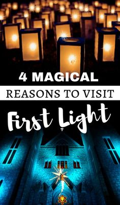 Guide to First Light - A Magical Event in Midland, Ontario. If you want to get in the Holiday Spirit then First Light in Midland should be on your Ontario Bucket List! #Ontariotravel #Ontario #Midland #FirstLight #seasonaltravel #holiday #events