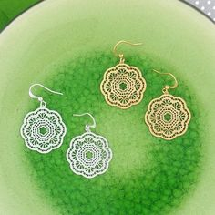 Online Shopping For LAVISHY Unique And Beautiful Filigree Earrings – LAVISHY Boutique Filigree Earrings, Pendant Earrings, Silver Earrings, Tech Accessories, Fashion Accessories, Fashion Jewelry, Gift Shops, Clothing Boutiques, How To Make Light