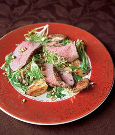 Lamb Salad Recipe Recipe #Tastebudladies #Lamb