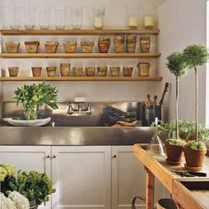 How to create a country-style potting room. |  Photo: Andrew Bordwin | thisoldhouse.com