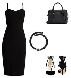 """""""Untitled #2"""" by ajcroft ❤ liked on Polyvore featuring Kate Spade, Nine West, MaxMara and Black"""