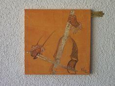 """""""Musikinstrumente als Spende der Stadt Olching"""" von Emo  SCHUSCHNIG"""