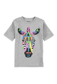 Zebra Graphic Tee (Kids) | FOREVER 21 BOYS - 2000052905
