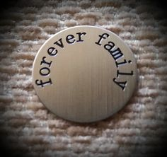 Forever Family Locket Plate  Floating by CreativeDesignsByEJ