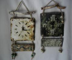 Relojes cuadrados con tronco