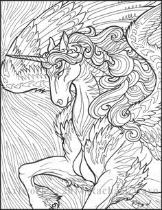 Star Wave Unicorn by rachaelm5 @ DeviantArt (again, I've probably pinned this before)