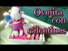 Ideas para regalar el día de la madre: oveja de calcetines - muñecos con calcetines - Isa ❤️ - YouTube