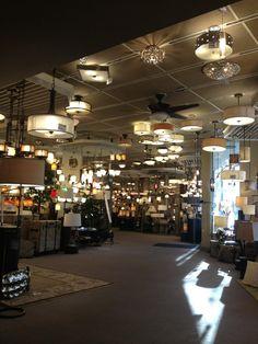 Inside the Seattle Lighting Showroom. Lighting Showroom, Seattle, Design