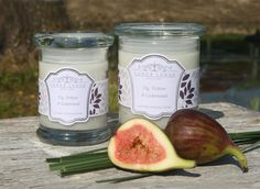 Fig, Vetiver & Cedarwood scented candle - Soothing & clarifying. New collection from www.lowerlodgecandles.com launching August 2013