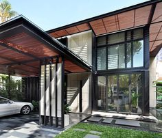 Contemporary two-storey single family residence designed by ONG&ONG situated in Singapore.