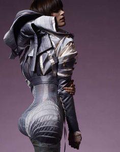 Space-Goth Fashion - Scherer Gonzalez Futuristic Collection (GALLERY)