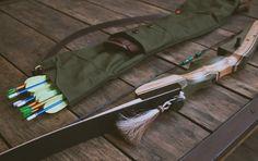Archer's quiver DIY | Wood&Faulk