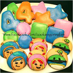 Team umizoomi cookies. Team umizoomi birthday. Cookie gone glam