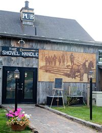 The Shovel Handle Pub at the Whitney's Inn in Jackson, NH.  Love the steak tips!