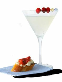 Happy National Vodka Day! Try a White Cosmo (citron-flavored vodka, Cointreau, white cranberry juice, lime, ice cubes) http://www.cosmopolitan.com/food/party-ideas/cocktail-party-food-recipes-0609-2
