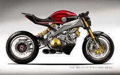 Honda's Drag Motorcycle Concept