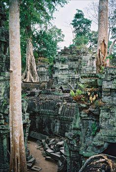 Preah Khan Temple, Angkor, Cambodia