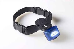 This light-up collar lights the path for your dog on long dark winter walks. | 28 Ingenious Things For Your Dog You Had No Idea You Needed