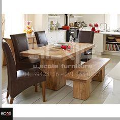 Bàn ăn gỗ tự nhiên, bàn ăn gia đình, thiết kế bàn ăn 0913580027