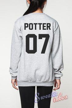 Harry Potter Shirt Sweater Movie DOB Deathly Hallows T-Shirt Sweatshirt Women Tee Unisex Jumper Grey Shirts Size S M L