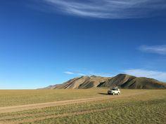 Land cruiser in Mongolia