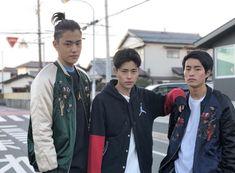 Fumiya Sankai with his brothers Shunya (right) and Yuya (left ) Yaki Soba, Japanese Boy, Male Beauty, Kai, Brother, Handsome, Boys, People, Aesthetics