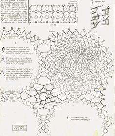 Crocheted motif no. 134   Patterns and motifs