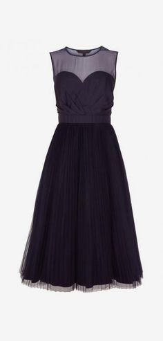 Coast Lily-Anna Dress, Navy
