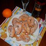 le mie zeppole di Carnevale con ricotta e arancia