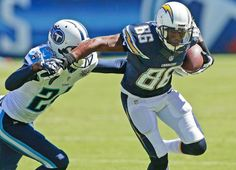 San Diego Chargers wide receiver Vincent Brown