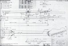 Strat Neck Blueprint