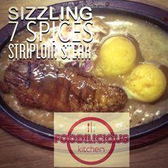 #bestseller #sizzling #7spices #striploin #steak #delicious #tender #juicy #foodilicious #foodiliciouskitchen #shahalam #1 #restaurant #tripadvisor #jjcmtv3