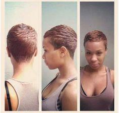 Super Cute Pixel hair cut #Hair #beautiful #hairstyles #haircut