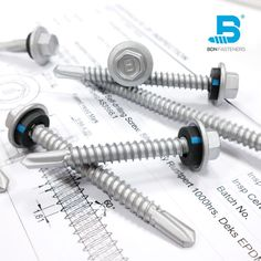 BDN Fasteners® offer a full range of Australian AS3566 Standard self-drilling and self-tapping screws for steel to steel and steel to timber applications in various coating options to cope with different environments. We aim to provide customers with the highest quality product at a competitive price. 100% Made in Taiwa Steel Trusses, Roof Trusses, Roofing Screws, Roof Cladding, Thermal Expansion, Steel Sheet, Skylight, Fasteners, Drill