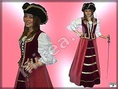 Dievčenský barokový kostým