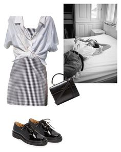"""""""paix dansante"""" by eniramarine ❤ liked on Polyvore featuring A.P.C. and Yves Saint Laurent"""