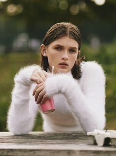 dying for a fluffy angora sweater