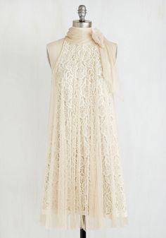 Vintage Clothing - Time and Grace Dress in Champagne ** Night out in Paris**