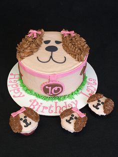 Dog Cake Single Serve Cakes Gallery Bakery Birthday