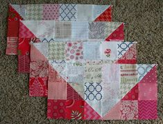 Directions for a large scrappy swoon quilt- it's a QAL