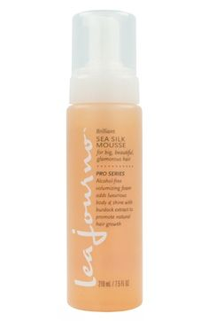 Beach waves w/ lea journo™ Brilliant Sea Silk Mousse available at #Nordstrom