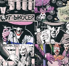 Flashes of the Jokers past