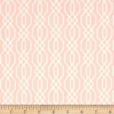The Love Collection Fence Blush from @fabricdotcom  From Camelot Cottons, this cotton print is perfect for quilting, apparel and home decor accents. Colors include blush pink and ivory.