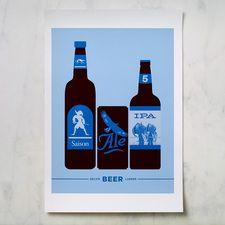 Bklyn Larder Beer Poster