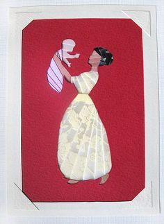 Iris Folding 03 I like the way it's placed on the card