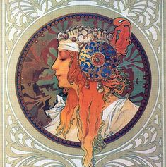 Alphonse Mucha Art Nouveau French Illustrations and Paintings — Stock Kangaroo Mucha Art Nouveau, Alphonse Mucha Art, Art Nouveau Poster, Art And Illustration, Illustrator, Art Français, Jugendstil Design, Art Vintage, Kunst Poster
