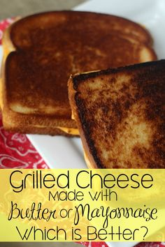 The best grilled cheese sandwich?