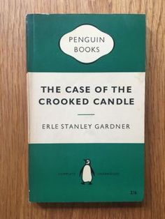 Erle Stanley Gardner - The Case of the Crooked Candle Vintage Penguin paperback