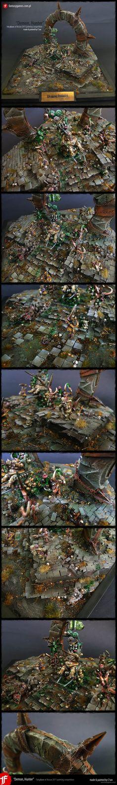 Demon, Hunter - Gold at Hussar 2011 by ~fantasygames-pl on deviantART